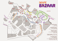 Site Map of *SCAPE Bazaar Booths