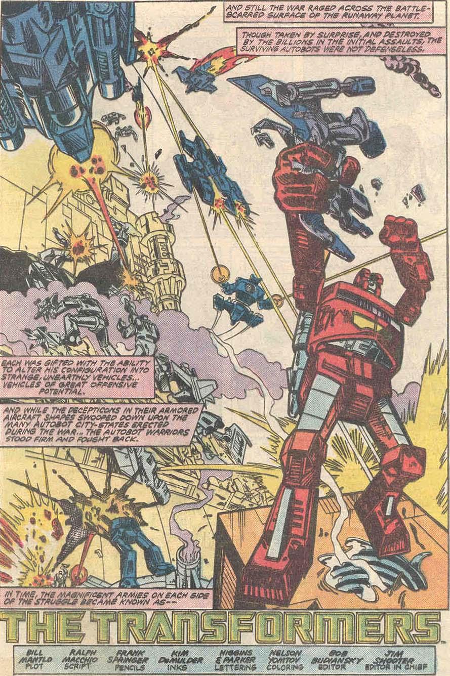 The Transformers (1984) #1 #80 - English 4