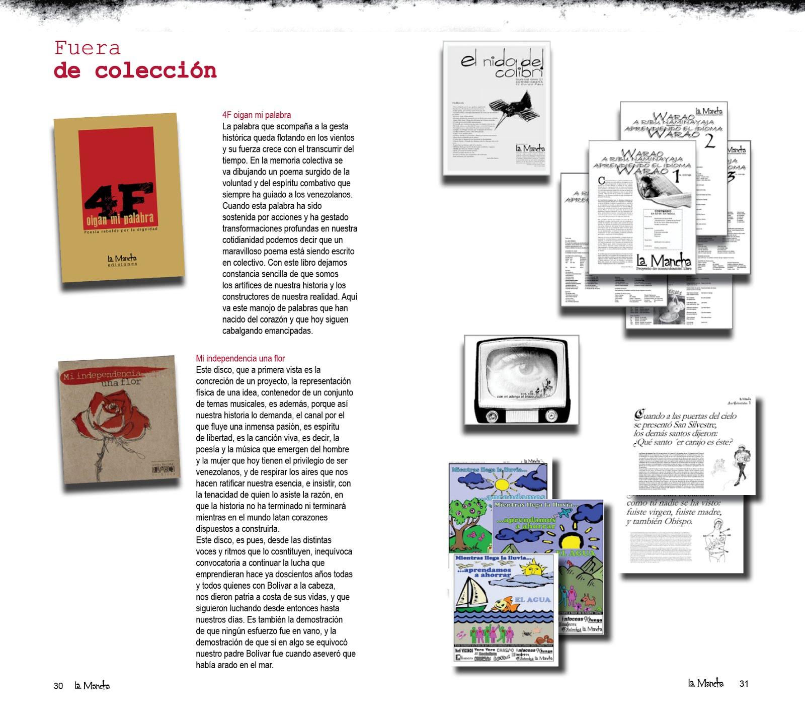 EDICIONES FUERA DE COLECCIÓN