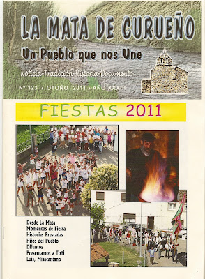 Boletin 123 - Portada - Otoño 2011 por La Mata de Curueño (León)
