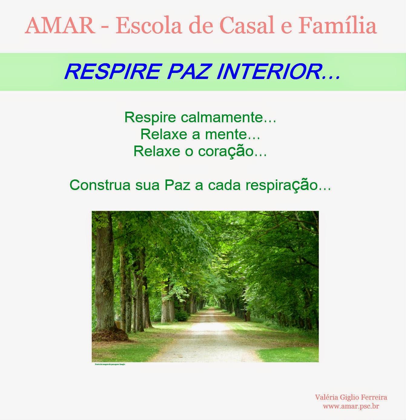 Respire Paz Interior...