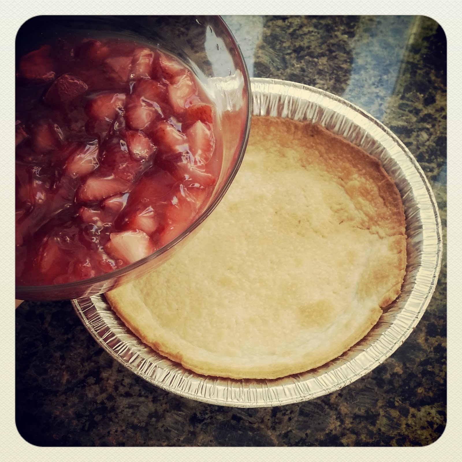 Receta au pair: Strawberry Pie