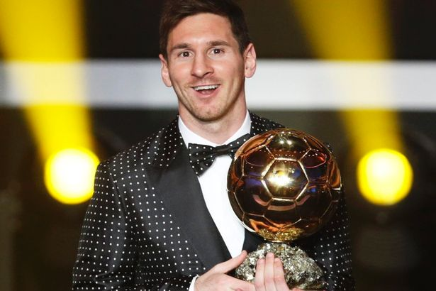 messi ballon d'or 2012