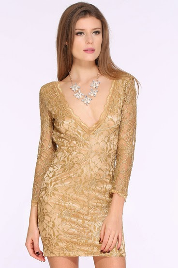 http://www.sheinside.com/Champagne-Hollow-Lace-V-Neck-Party-Dress-p-191183-cat-1727.html?aff_id=2547