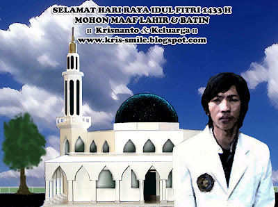 Selamat Hari Raya Idul Fitri 1433 H Sobat Readers OM Kris Blog dan Teman Blogger Nusantara