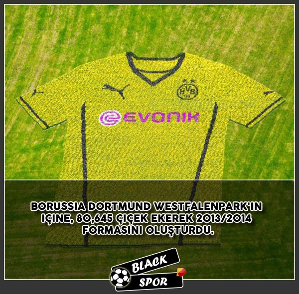 Borussia Dortmund'un İlginç Forması !