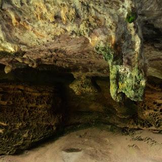 Estalactite, no Salão das Estalactites, Pedra do Segredo em Caçapava do Sul