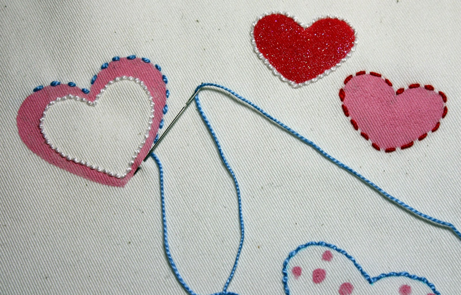 Creations By Michie Blog Valentine S Day Embroidery
