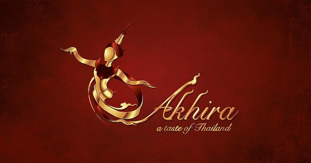 Logo Design Akhira Thai Dance Performance In Europe
