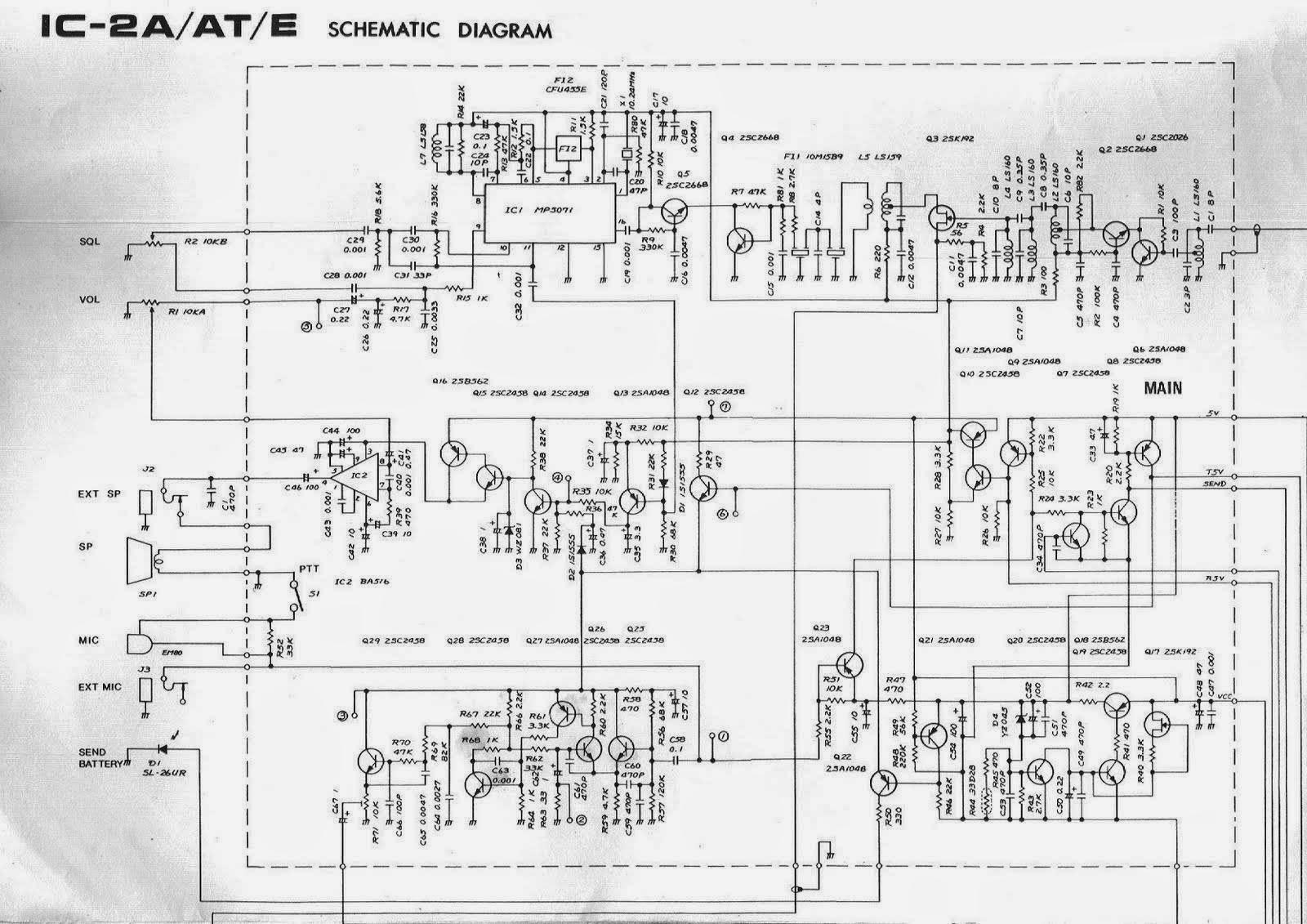 ICOM IC- H16 MANUAL