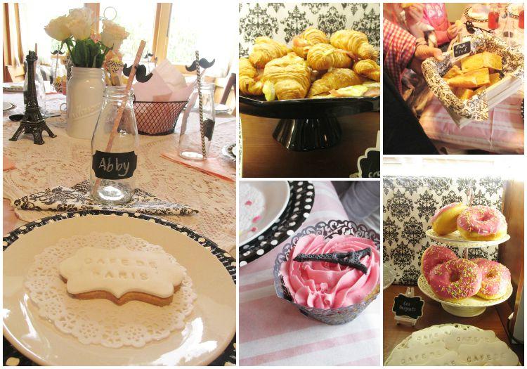 French party food at cafe de paris