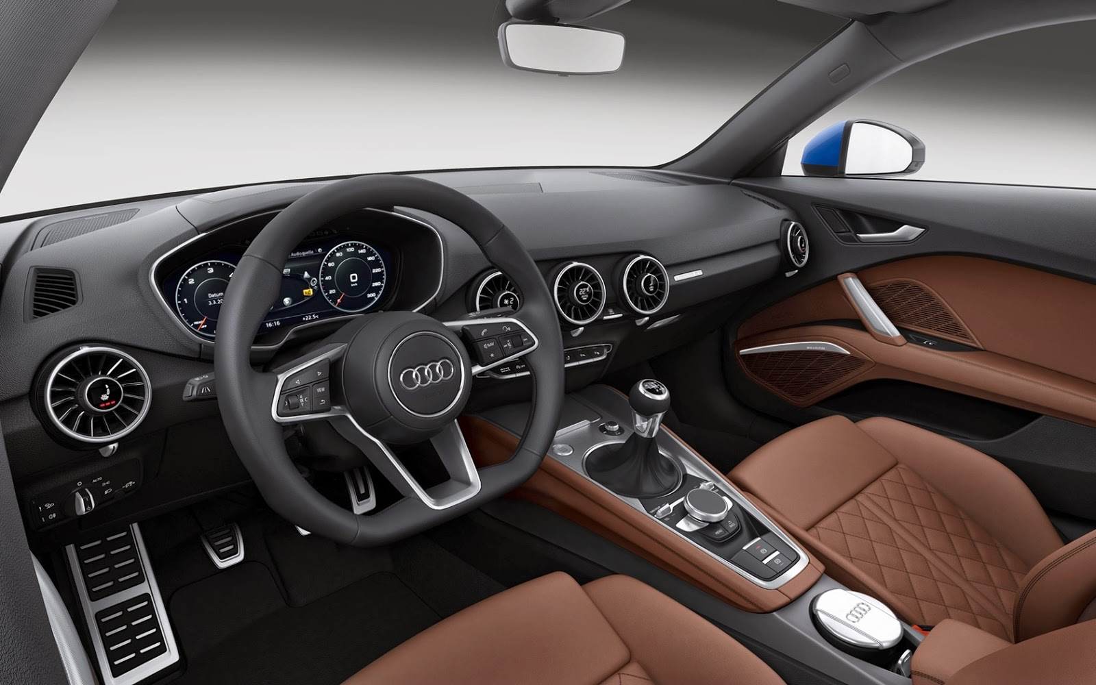 Interior del Audi TT 2014