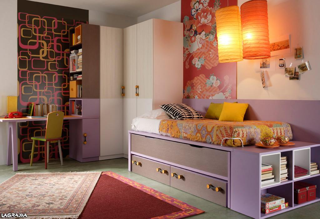 Habitaciones juveniles for Mueble compacto juvenil