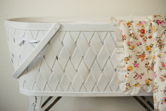 vintage bassinet bedding - Bassinet Bedding