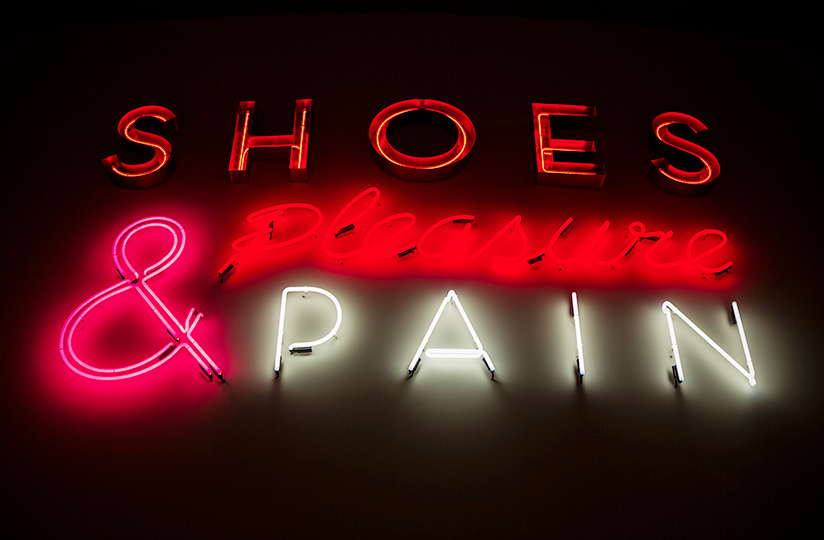 V&A Shoes: Pleasure & Pain Exhibition