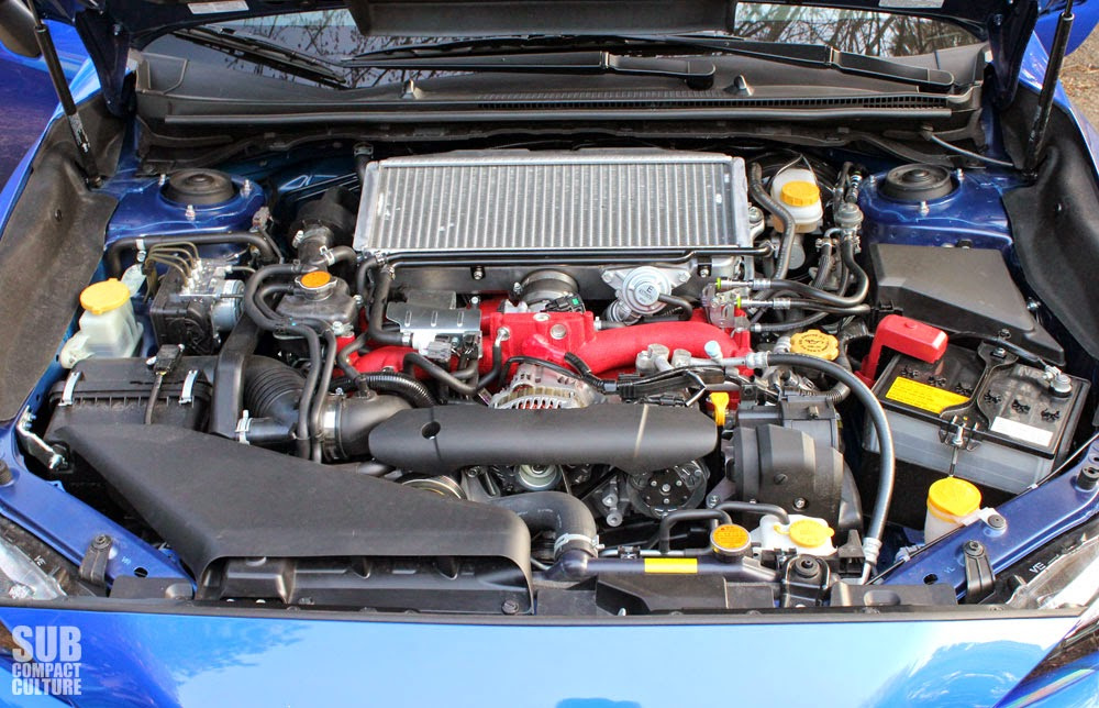 2015 WRX STI engine