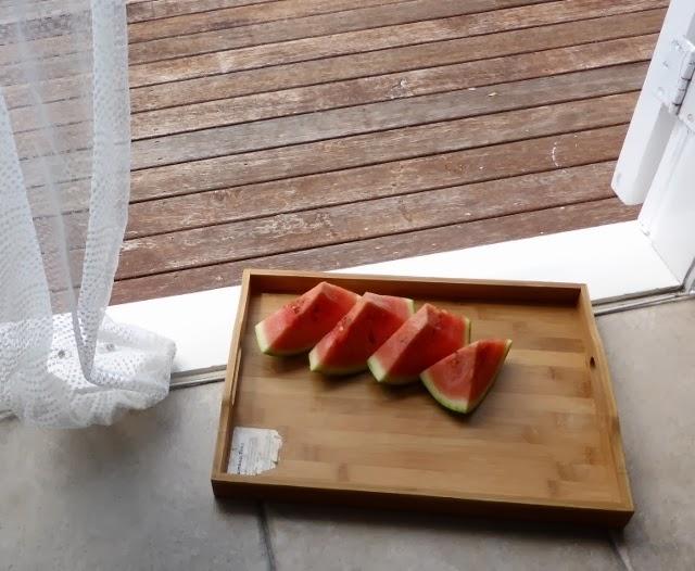 炎炎夏日的西瓜