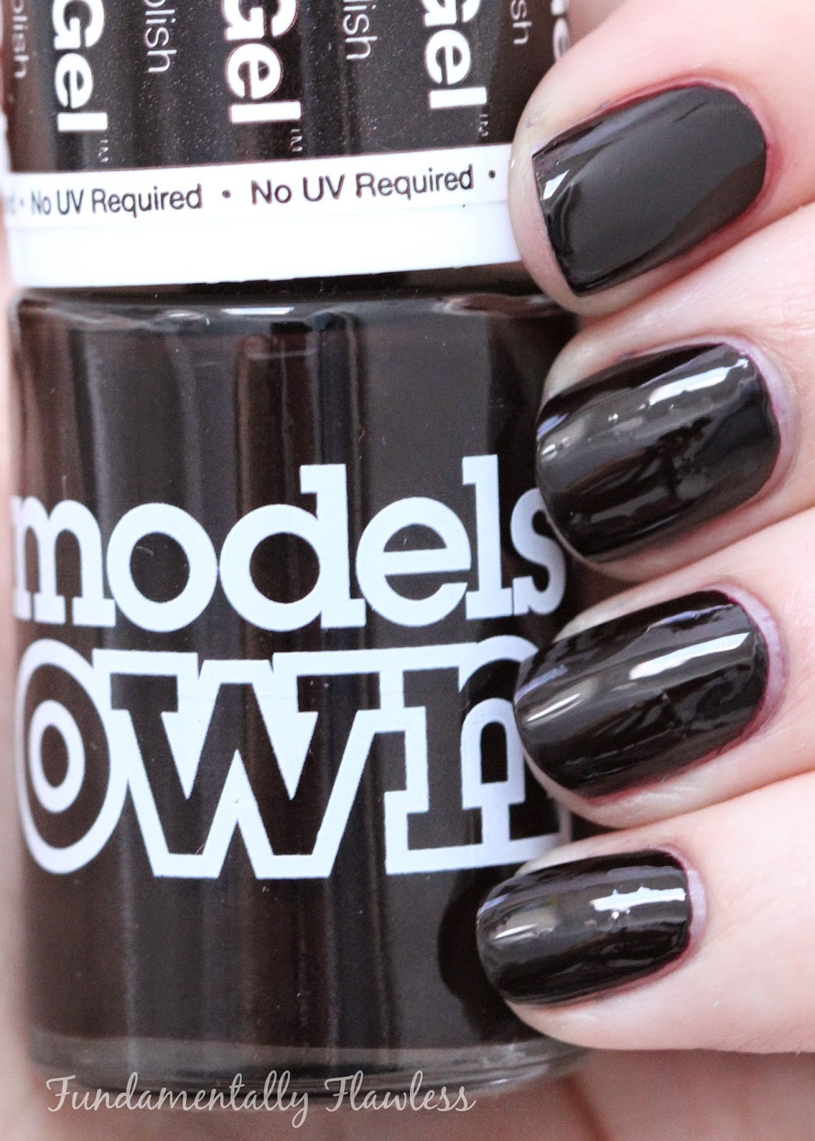 Models Own Autumn Hypergel Raven Red swatch
