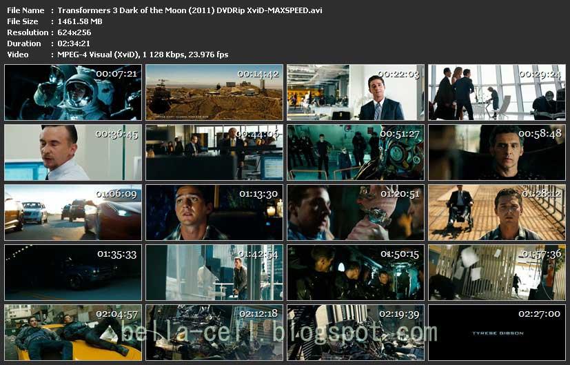Transformers 3 dvdrip xvid maxspeed subtitles