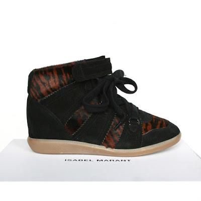 isabel marant wedge heel sneakers