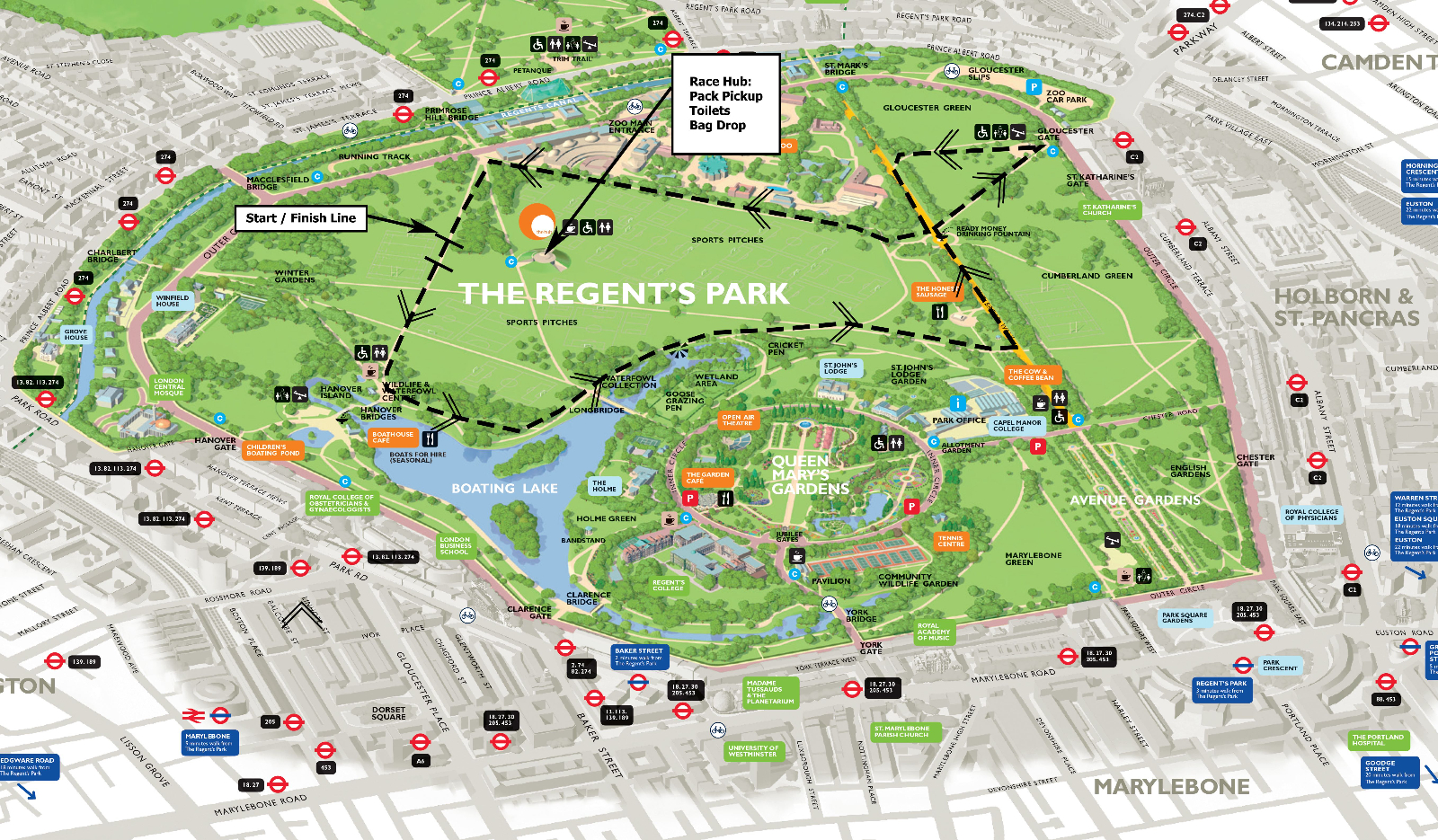 Go Feet Regents Park 10k Royal Parks Winter Series