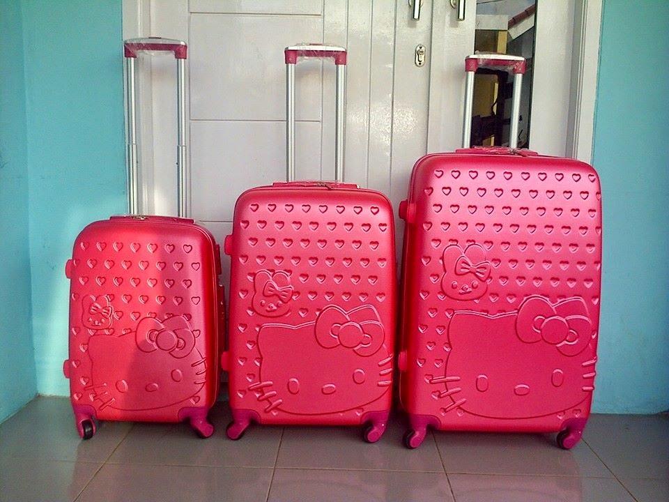 Koper Hello Kitty ORIGINAL Trolley Dan Koper Untuk Anak