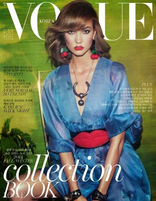 Karlie Kloss for Vogue Korea May 2014