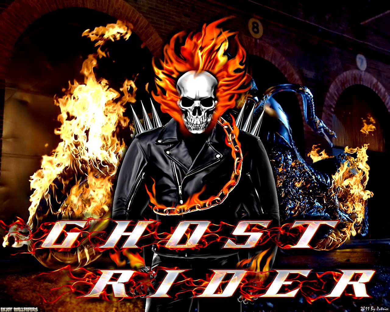 gallery for ghost rider wallpaper 2