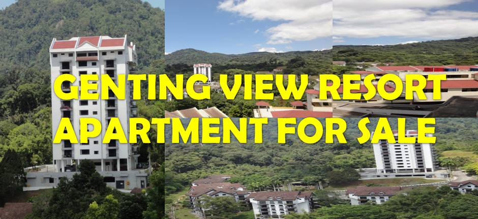 Genting View Resort Apartment For Sale