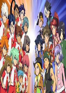 Inazuma Eleven GO VS Danball Senki W Español