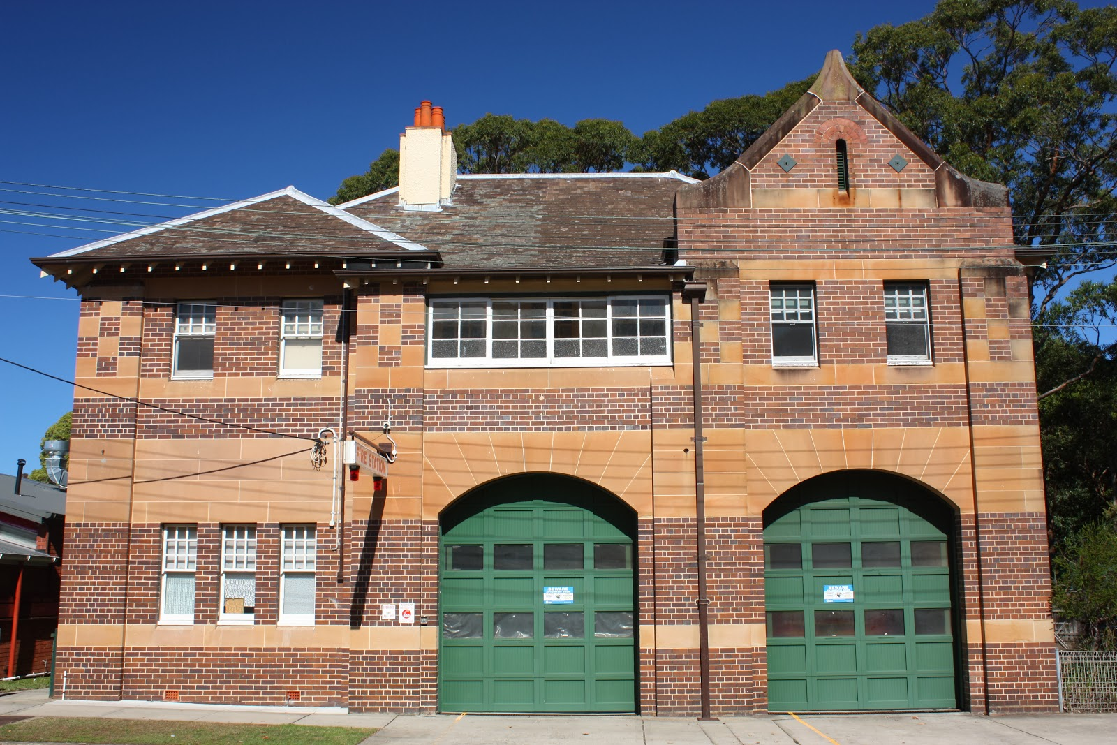 Fire Station, The Avenue, Randwick