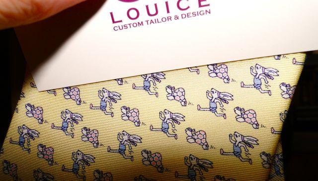 tie by de louice custom tailor and design