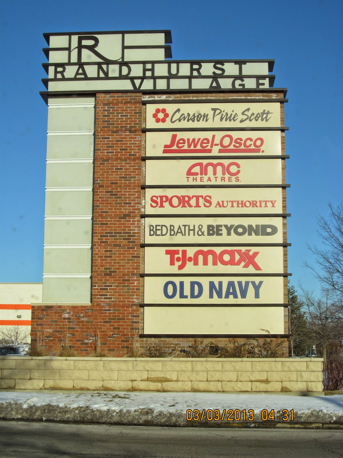 what was once the randhurst mall now known around mount prospect il as randhurst village has recently transformed from enclosed indoor mall