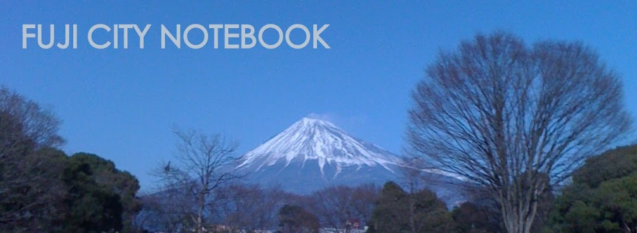 FUJI CITY NOTEBOOK