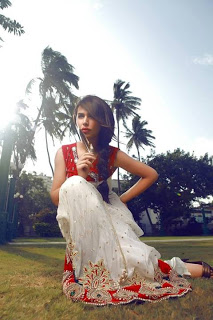 Latest Rani Siddiqi Luxury Look Panche Collection 2013