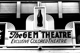 Jim Crow Laws Sign, Waco, Texas, The Gem Theater