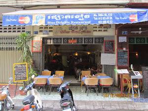 """Blue Dolphin"" restaurant."