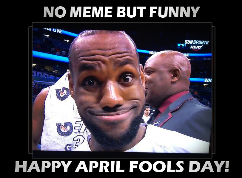 Lebron James Hairline April Fools Happy April Fools Day!...
