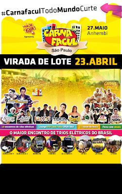 CARNAFACUL 2012 SP- INGRESSOS, PROGRAMAÇÃO