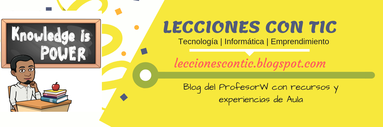 Lecciones con TIC