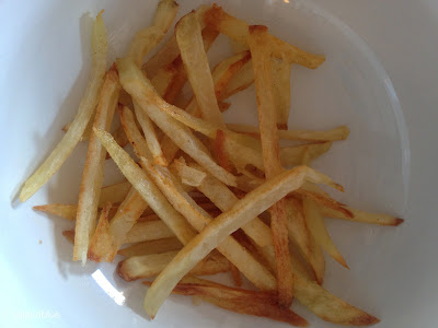 Oven Roasted French Fries- homemade, healthier, tastier, easy-as-can-be!