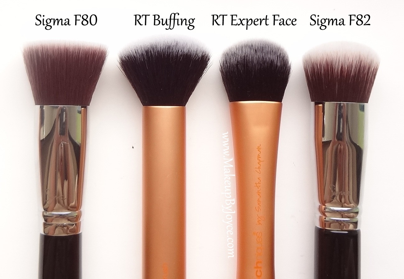 Makeupbyjoyce Review Comparison Real Techniques Brush