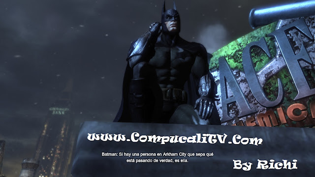 Capturas propias Batman Arkham City 2011 PC FULL