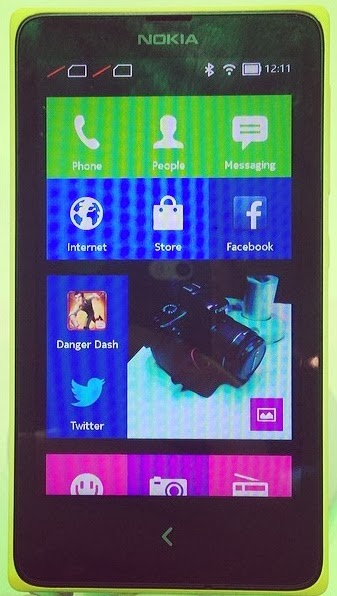 Nokia X+ Android