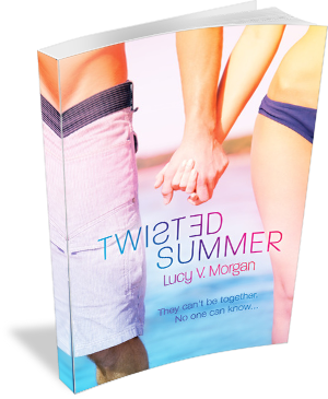 Book Cover Twisted Summer by Lucy V Morgan