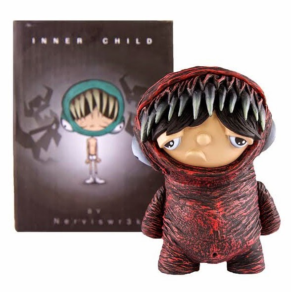 Inner Child Vinyl Figure & Packaging by Nerviswr3k