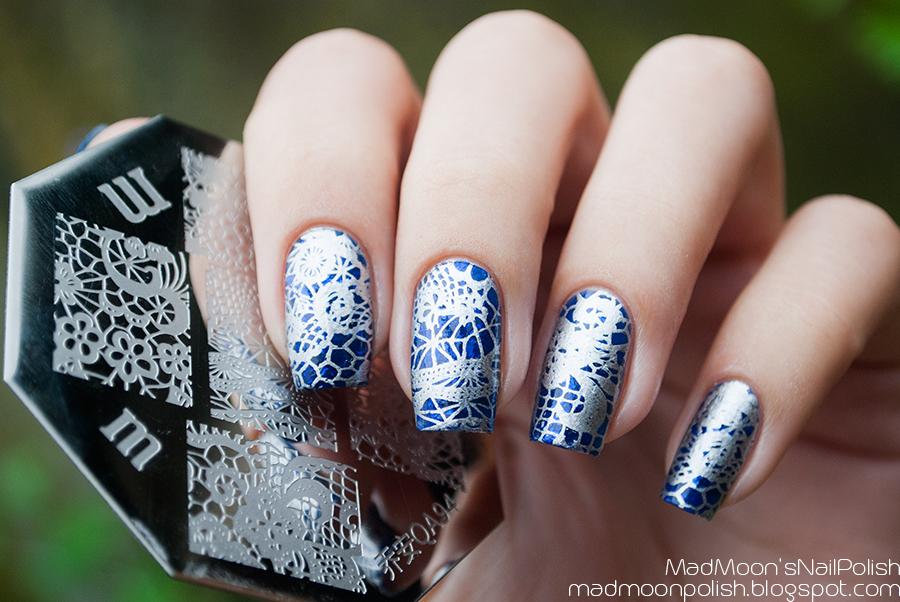 Anna Gorelova Водяной + stamping QA94 из BornPretty
