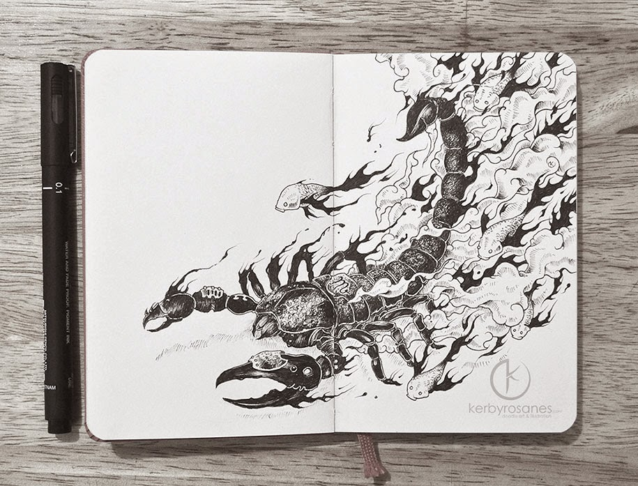 Simply Creative New Doodle Art By Kerby Rosanes