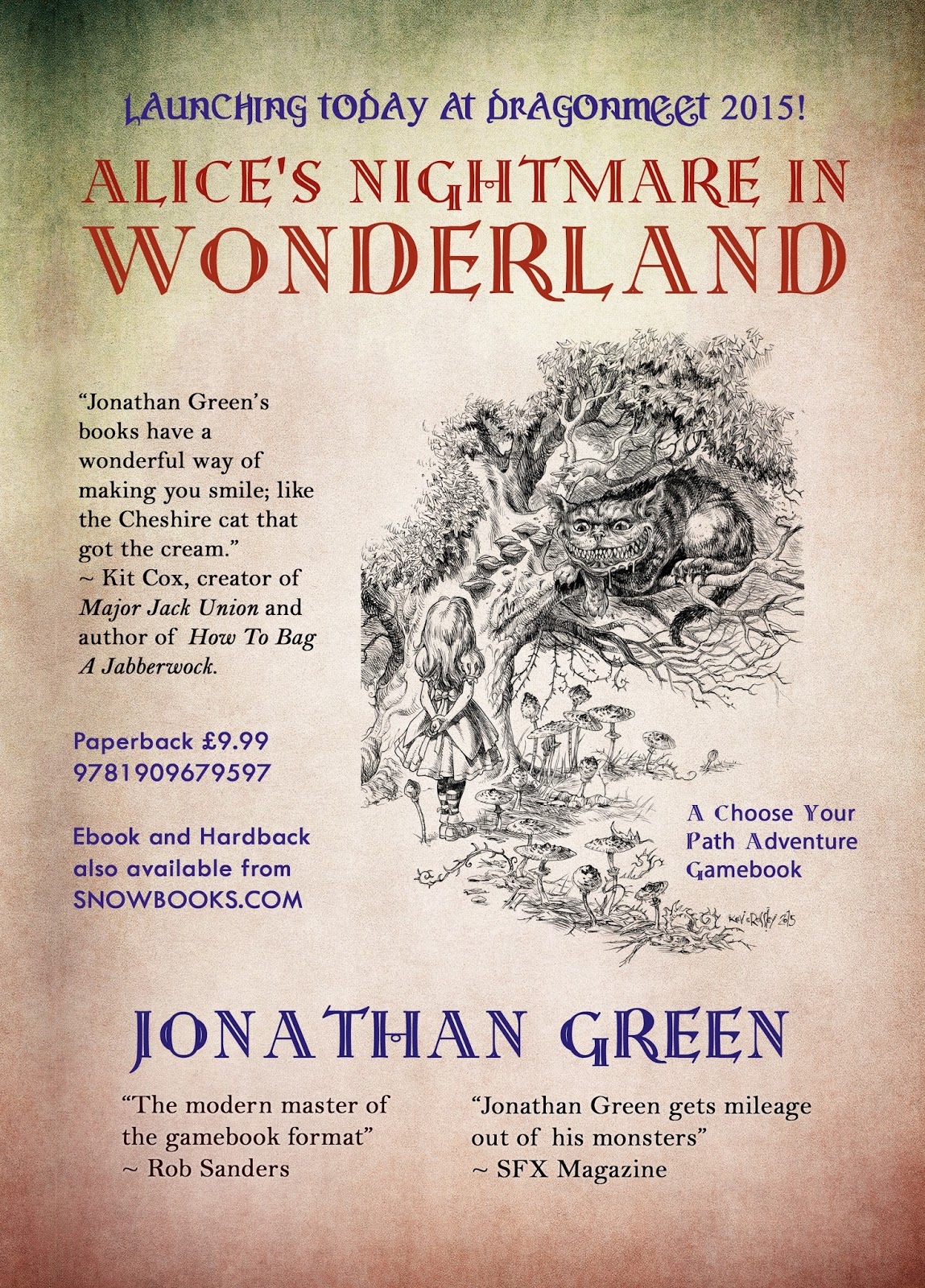 Jonathan green author november 2015 this year the special guests are steve jackson and ian livingstone not to mention lone wolf creator joe dever so if youre in the west londonibis fandeluxe Image collections