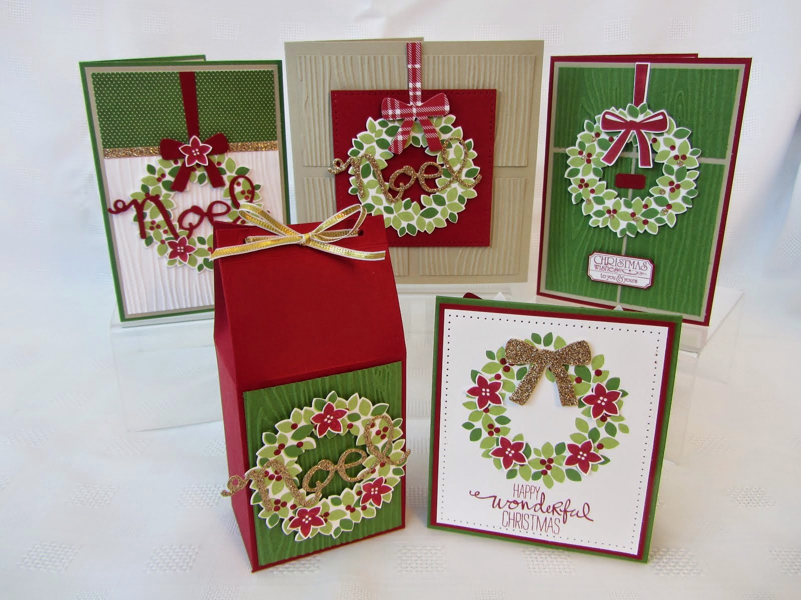 Wondrous Wreath Stamp Class